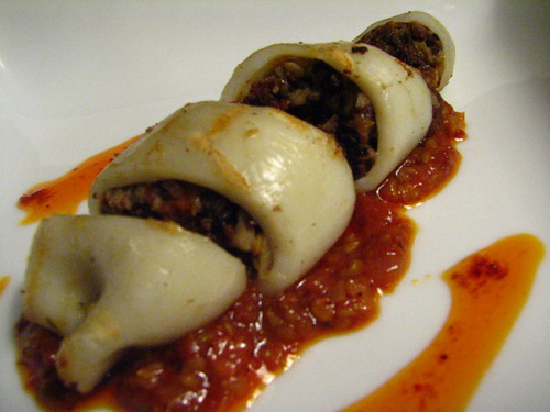 Morcilla-Stuffed Squid – Bloody Hell! | We Are Never Full