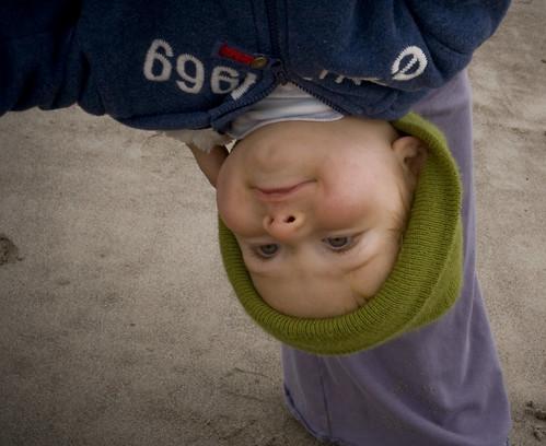 upsidedownboy