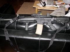 gun rifle m16 vfg 223 eotech larue assaultrifle 556 lasersight blackrifle ar16 evilblackrifle longgun eotech512 holographicsight
