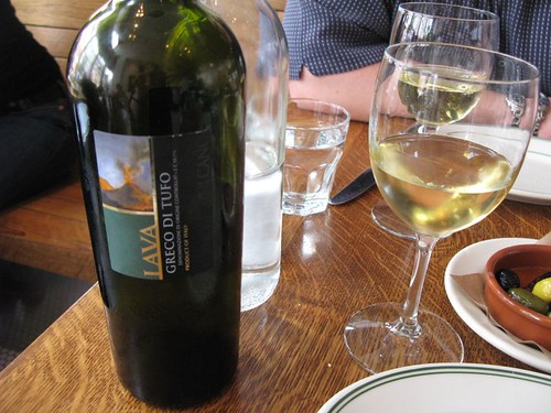 V. Good Vino Blanco at Delfina Pizzeria