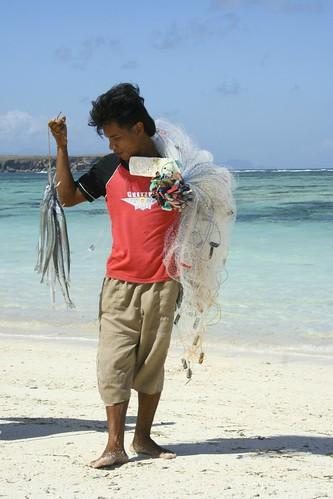 Sumerang fisherman