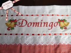 Semaninha: Domingo (Lila Bordados em Ponto Cruz) Tags: natal bordado pontocruz semaninha panosdeprato