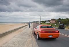 dodge-challenger-srt8-overlooking-the-beach (dodge challenger1) Tags: road trip car magazine se muscle dodge motor hemi trend 2008 2009 rt v8 challenger srt8 08dodgechallengersrt8