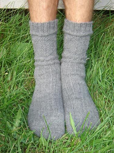 man wool socks handmade knit handknit knitty gansey