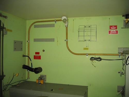 Inside the hardened equipment box