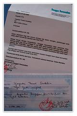 Tanda Terima Sanggar Darussalam (solidaritas KEBERSAMAAN) Tags: indonesia foundation yayasan sewon solidaritas kebersamaan tunascendekia panggungharjo desajaranan sanggardarussalam bantuldidiyogyakarta