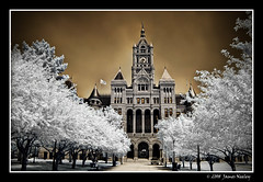 SLC Courthouse in IR (James Neeley) Tags: ir utah bravo saltlakecity infrared courthouse mywinners aplusphoto jamesneeley convertedd200