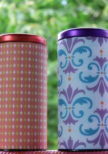 Transformed Tea Tins