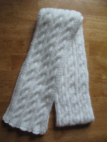 Angora Irish Hiking Scarf