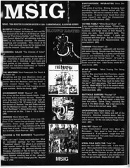MSIG fanzine (Patrick Houdek) Tags: family pet house beer rock drunk lost illinois bath punk university cross steel n patrick mikey pole chia southern hardcore alcohol tub drugs booze government roll surfers 1991 thrash plaid carbondale issue snot voodoo victims reviews weirdos diamanda retina blowfly fanzine siu samiam butthole galas msig meatmen houdek jackofficers voodew msigamry photobypatrickhoudek