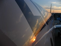 Reflexions (Lost in Transition) Tags: sunset canon lufthansa a320 skyhigh flyinhigh ixus800is lostintransition matthiasfranke marrymeflyforfree