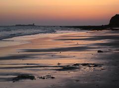 SoLeDaD (RoOoOo!!!) Tags: sunset summer sky sun sol beach atardecer playa cielo verano castillo chiclana barrosa