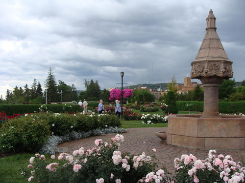 The Rose Garden in Duluth.