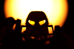 It arises - Day 2 (VikingZombie) Tags: light macro silhouette toy glare lego ominous 5d 2365 canon100mm28macrousm 1object365days seanthamer