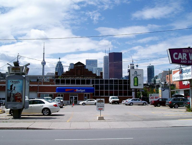 Opera House, CN Tower, Budget