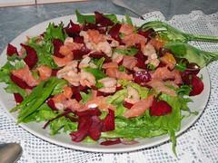 Салат со свеклой