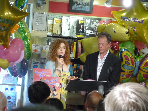Bernadette Peters, book signing