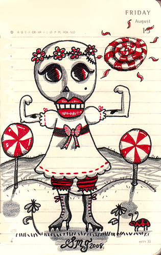 Lollypop steriods in Skull Land