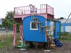 construction trailer sk. Black Bedroom Furniture Sets. Home Design Ideas