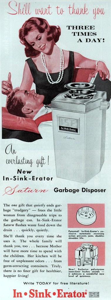In-Sink-Erator 1960