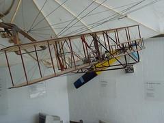 Modell Seitenansicht: Wright Flyer