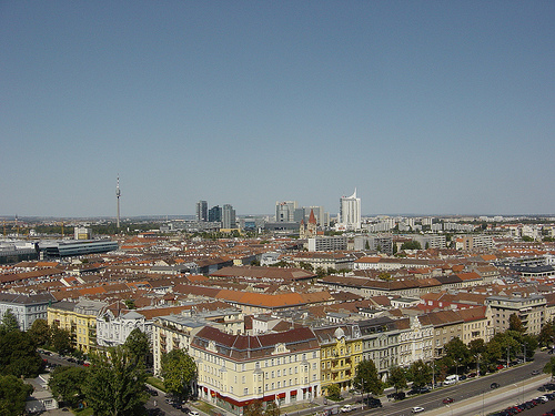 View from Wiener Riesenrad