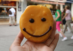 {      .. Explored :D (Misor [Qtr]) Tags: people orange smile face yellow germany munich hand you chocolate  {