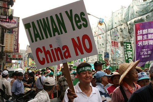 But a yes to China may also be a yes to Taiwan
