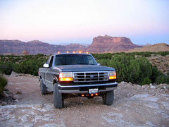 Off-Roading (Udink) Tags: truck utah offroad sanrafaelswell emerycounty mexicanmountain 1997fordf250 nittoterragrapplerallterrain