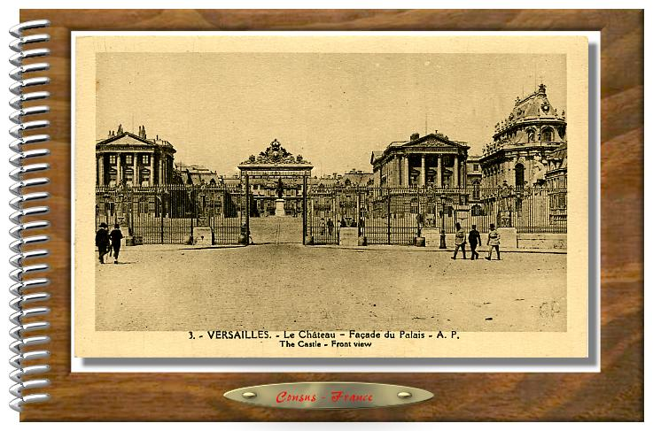 VERSAILLES-Le Chateau