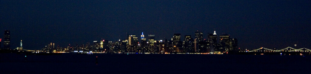 nyc night view
