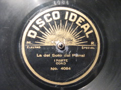 Disco DISCO IDEAL (sergiohs85) Tags: disco record shellac 78rpm 10inch discoideal