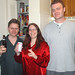 20050108 - Pajama Jammy Jam (#2) - DSC00119 - Matt, Carolyn, Doug