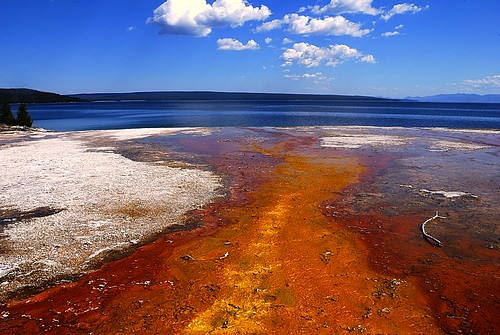 Yellowstone lake da marco rubini.