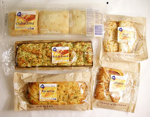 Albert Heijn 的半熟麵包-080921