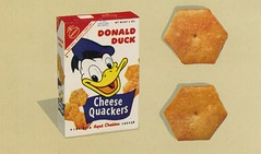 Donald Duck Cheese Quackers