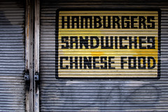 Hamburgers Sandwiches Chinese Food