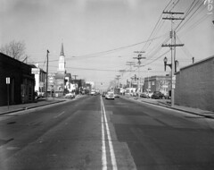 Street shot, U.S. Route 1/301 North, Rice Collection 559C, The Library of Virginia