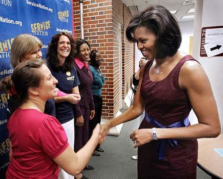 Michelle Obama at Tallahassee