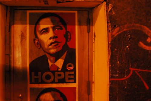Obama Posters, Houston & Bowery