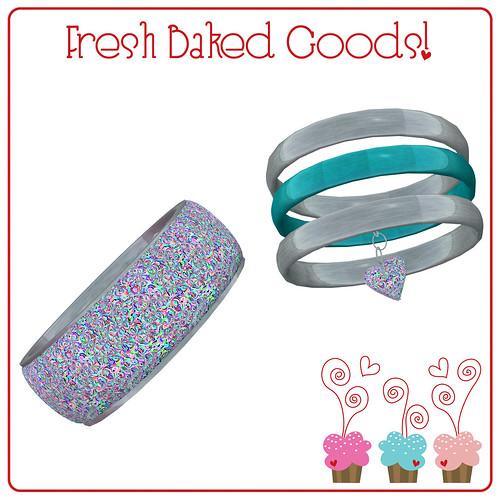 ~*FBG*~ Turkish Delight Bubbles Bracelet Set (Booth Freebie Gift)