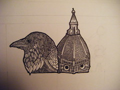 2. Filippo, duomo (anne manteleers*) Tags: art sketch drawing sketching sketchbook dome duomo brunelleschi