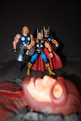 The Thor's overlooking a fallen Giant Man (killswitched) Tags: hammer comics toy actionfigure ultimate alien superhero comicbooks thor marvel marvelcomics avengers uru asgard sledgehammer norse marveluniverse betaraybill simonson themightythor ultimates hankpym mjolnir antman ultimatethor giantman waltsimonson stormbreaker mightythor asgardian mightyavengers henrypym omegaflight korbinite urumetal