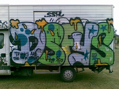 Trucks are the new trains (Antilopekid) Tags: truck copenhagen denmark graffiti ssh sco dsf fys t2f