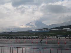 Mt. Fuji from Fuji Speedway