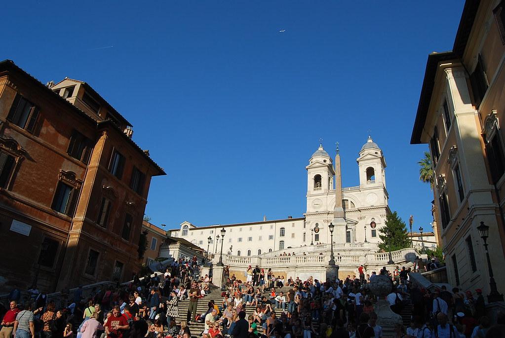 Escalinata de la Piazza Spagna