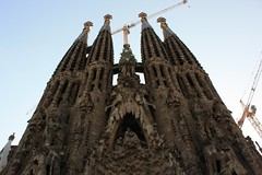 Sagrada Familia - Barcelona (marfis75) Tags: barcelona church spain barca cathedral kathedrale cc spanish gaudi creativecommons sagradafamilia spanisch sagrada spanien kirch marfis marfis75 catelania katelanien marfis75onflickr