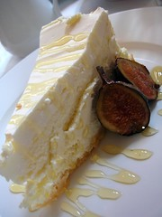 Goat Cheese Cheesecake with Figs