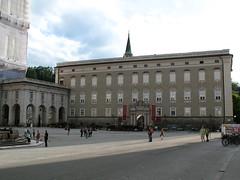 Residenz Salzburg von ausserhalb