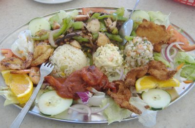 Marisqueria el Tejado - Seafood Platter
